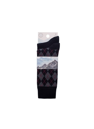 John Frank Çorap Siyah